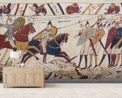 Bayeux tapestry - Norman invasion of England mural wallpaper living room preview