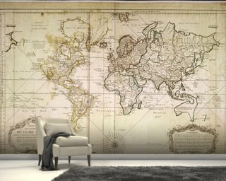 World map wallpaper wall murals wallsauce usa historic world map gumiabroncs Image collections