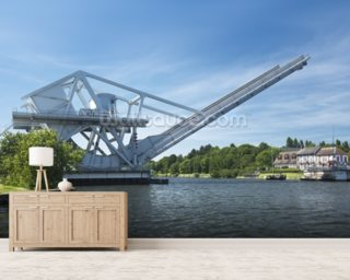 Pegasus Bridge wallpaper mural