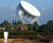 Jodrell Bank Radio Telescope wallpaper mural kitchen preview
