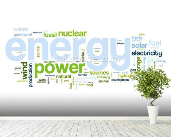 Energy sources wallpaper wall mural wallsauce for Wallpaper sources