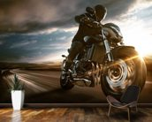 Fast Motorbike wall mural kitchen preview