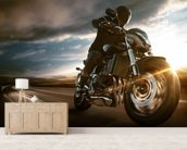 Fast Motorbike wall mural living room preview