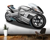 Superbike Concept mural wallpaper kitchen preview