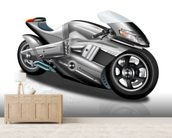 Superbike Concept mural wallpaper living room preview
