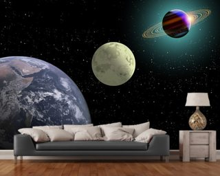Fantasy wallpaper sci fi wallpaper wallsauce for Earth rising wall mural