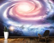 Distant Spiral Galaxy mural wallpaper kitchen preview