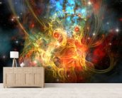 Princess Nebula wall mural living room preview