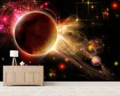 Double Sunset wall mural living room preview