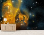 Eagle Nebula wall mural living room preview