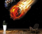 Asteroid wall mural kitchen preview