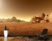 Mars Surface mural wallpaper kitchen preview