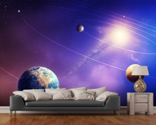 Inner Solar System Planets Wall Mural
