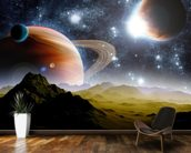 Deep Space Concept wall mural kitchen preview