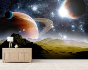 Deep Space Concept wall mural living room preview