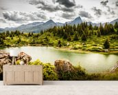 Grassy Hillside wall mural living room preview