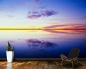 Sunrise Reflected in Flooded Desert mural wallpaper kitchen preview