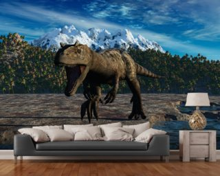 Allosaurus Mural Wallpaper Wall Murals Wallpaper