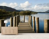 Lakeland Jetty View wall mural living room preview