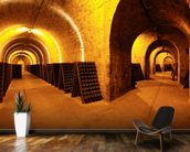 Wine Cellar Tunnels wallpaper mural kitchen preview