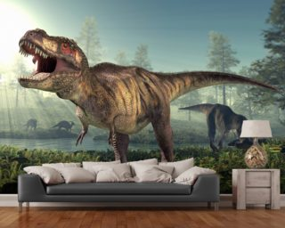 Dinosaur wallpaper mural uk wall murals for Dinosaur wall mural uk