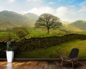 Rural Lake District Hills wall mural kitchen preview