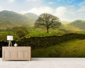 Rural Lake District Hills wall mural living room preview