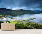 Derwent Water - Allerdale mural wallpaper living room preview