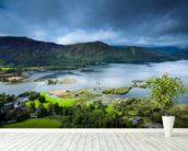 Derwent Water - Allerdale mural wallpaper in-room view