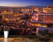 Vegas at Night wall mural kitchen preview