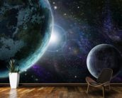 Blue Planet Earth wallpaper mural kitchen preview