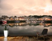 Padstow Cornwall wall mural kitchen preview