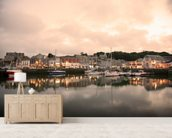 Padstow Cornwall wall mural living room preview
