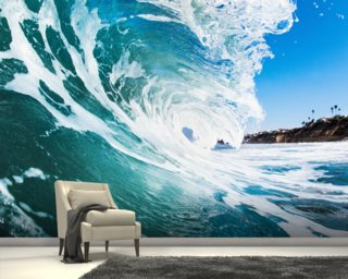 Rolling Waves Wall Mural Wallpaper Wall Murals
