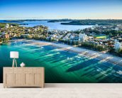 Sydney Bay Cityscape wall mural living room preview