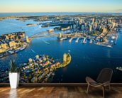 Sydney Cityscape wallpaper mural kitchen preview