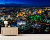 Las Vegas Lights wall mural living room preview