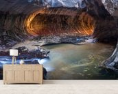 Zion National Park - Utah mural wallpaper living room preview