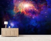 Space wall mural living room preview