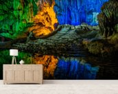 Hang Dau Go Wooden Stakes Caves - Vietnam wallpaper mural living room preview