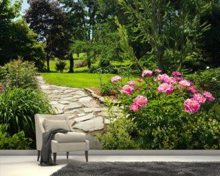 Good Pink Peony Garden
