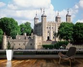 Tower of London mural wallpaper kitchen preview