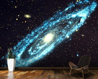 Spiral Galaxy Wall Mural Gallery
