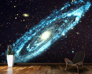 Space wallpaper wall murals wallsauce uk for Space wallpaper mural