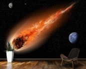 Asteroid in Space wallpaper mural kitchen preview