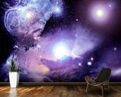 Fantasy Space Nebula wall mural kitchen preview