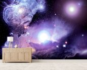 Fantasy Space Nebula wall mural living room preview