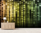 DNA Research wallpaper mural living room preview