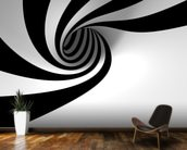 Abstract Spiral wallpaper mural kitchen preview