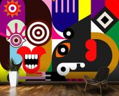 Abstract Women wallpaper mural kitchen preview